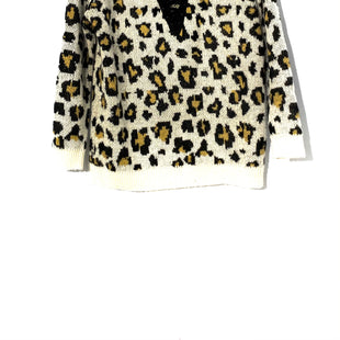 Primary Photo - BRAND: LOVE TREE STYLE: SWEATER LIGHTWEIGHT COLOR: ANIMAL PRINT SIZE: M SKU: 262-26275-66875