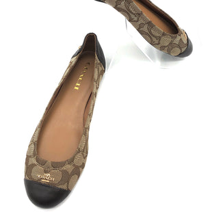 Primary Photo - BRAND: COACH STYLE: SHOES FLATS COLOR: MONOGRAM SIZE: 7.5 SKU: 262-26275-74307