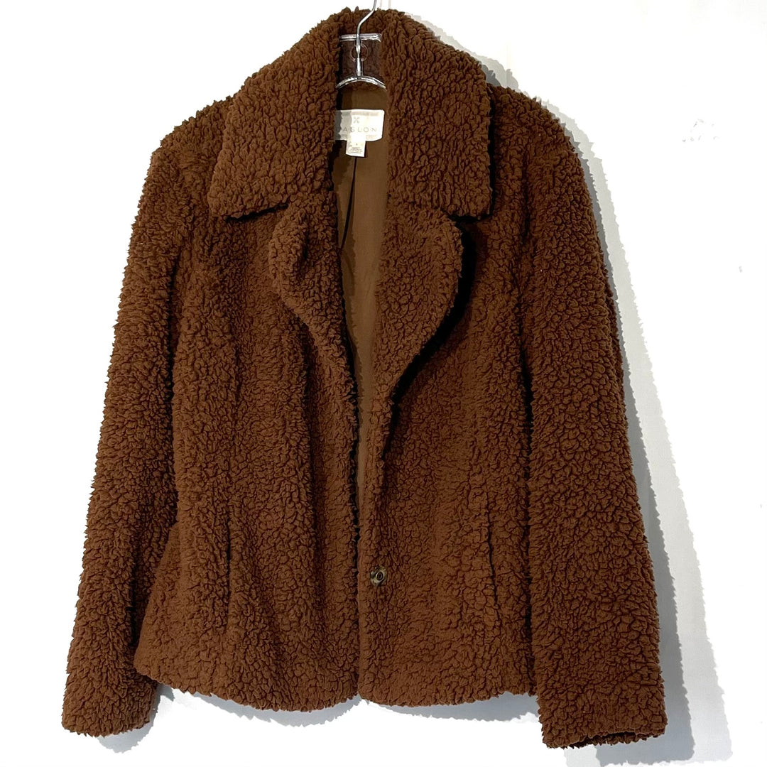 Primary Photo - BRAND: CASLON <BR>STYLE: JACKET OUTDOOR <BR>COLOR: BROWN <BR>SIZE: S <BR>SKU: 262-26275-75251<BR>GENTLEST PILLING AS IS SOFT!