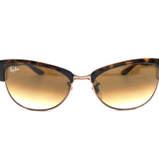 Primary Photo - BRAND: RAY BAN STYLE: SUNGLASSES COLOR: BROWN SKU: 262-26298-554AS IS DESIGNER ITEM FINAL SALE