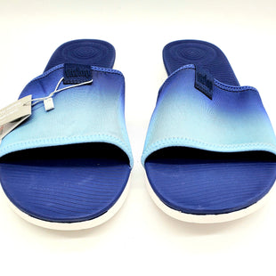 Primary Photo - BRAND: FITFLOP STYLE: SANDALS FLAT COLOR: BLUESIZE: 11 SKU: 262-26275-66178AS IS