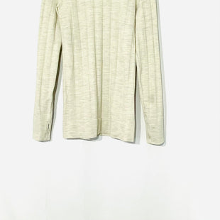 Primary Photo - BRAND: ATHLETA STYLE: ATHLETIC TOP COLOR: BEIGE SIZE: M SKU: 262-26275-7056046% WOOL 6% SPANDEX