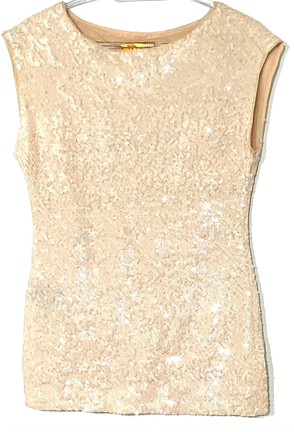 Primary Photo - BRAND: ALICE + OLIVIA <BR>STYLE: TOP SLEEVELESS <BR>COLOR: SEQUIN <BR>SIZE: XS/TP<BR>SKU: 262-26275-68633<BR>BRILLIANCE IN SPARKLES<BR>DESIGNER FINAL