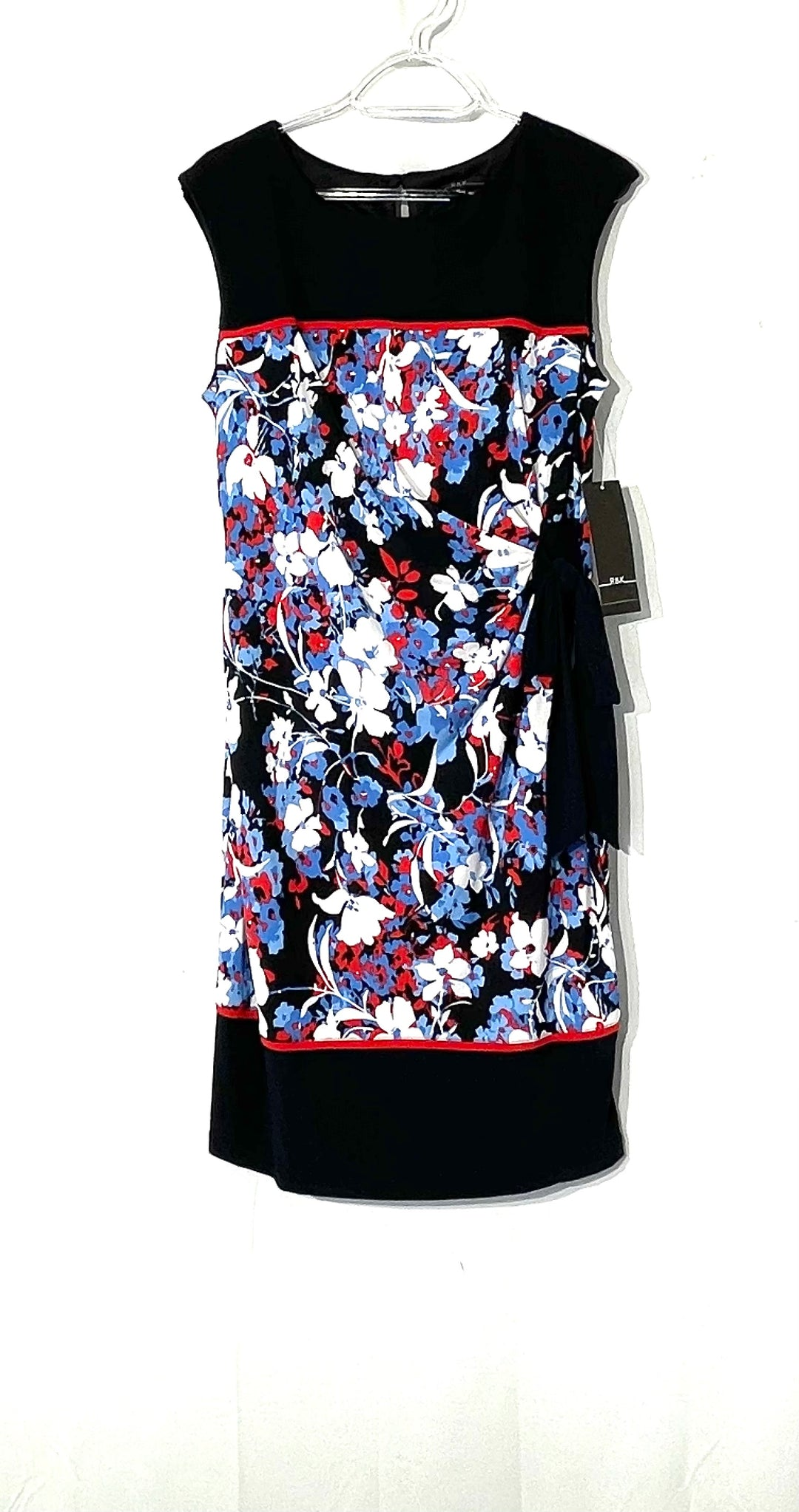 Primary Photo - BRAND: R AND K <BR>STYLE: DRESS SHORT SLEEVELESS <BR>COLOR: FLORAL <BR>SIZE: M <BR>SKU: 262-26275-73101