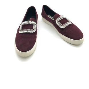 Primary Photo - BRAND: KARL LAGERFELD STYLE: SHOES FLATS COLOR: MAROON SIZE: 9 OTHER INFO: AS IS MISSING STONES SKU: 262-26275-71992AS IS MISSING A STONE