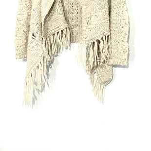 Primary Photo - BRAND: SILVER STYLE: SWEATER CARDIGAN LIGHTWEIGHT COLOR: BEIGE SIZE: S SKU: 262-26275-70565