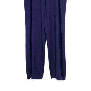 "Primary Photo - BRAND: EILEEN FISHER STYLE: ANKLE PANTCOLOR: DARK PURPLE SIZE: XL SKU: 262-26241-42241ORGANIC COTTON INSEAM 27.5""DESIGNER FINAL"