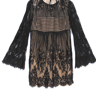 Primary Photo - BRAND: BCBG MAXAZRIA STYLE: DRESS SHORT LONG SLEEVE COLOR: BLACK SIZE: XXS SKU: 262-26241-41366