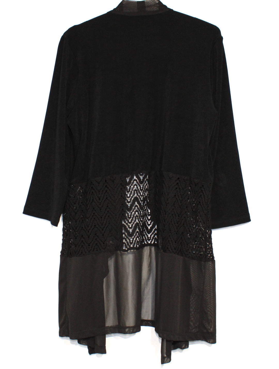 Photo #1 - BRAND: TRAVELERS BY CHICOS <BR>STYLE: COVER UP<BR>COLOR: BLACK <BR>SIZE: M/1<BR>SKU: 262-26211-137654