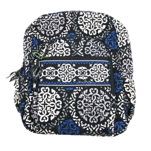 "Primary Photo - BRAND: VERA BRADLEY STYLE: BACKPACK COLOR: BLUE WHITE BLACK SIZE: LARGE SKU: 262-26275-74929AS IS APPROX 13""X16""X6"""