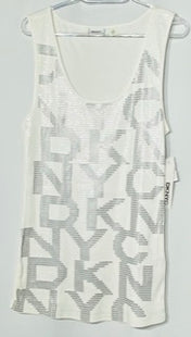 Primary Photo - BRAND: DKNY STYLE: TOP SLEEVELESS COLOR: SEQUIN SIZE: XL SKU: 262-26275-67212