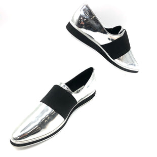 Primary Photo - BRAND: KARL LAGERFELD STYLE: SHOES FLATS COLOR: SILVER SIZE: 10 SKU: 262-26275-74309FITS APPROX. SZ.10. SOME SLIGHT WEAR