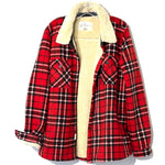 Primary Photo - BRAND:    SOHO THREADS<BR>STYLE: FLEECE <BR>COLOR: PLAID <BR>SIZE: L/XL<BR>OTHER INFO: SOHO  - <BR>SKU: 262-26275-74825<BR>SIZE TAG SHOWS XXL BUT RUNS SMALLER