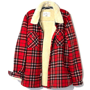 Primary Photo - BRAND:    SOHO THREADSSTYLE: FLEECE COLOR: PLAID SIZE: L/XLOTHER INFO: SOHO  - SKU: 262-26275-74825SIZE TAG SHOWS XXL BUT RUNS SMALLER