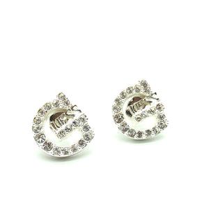 Primary Photo - BRAND: GUESS STYLE: EARRINGS COLOR: SILVER SKU: 262-26275-74543AS IS