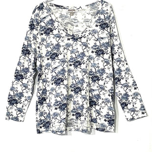 Primary Photo - BRAND: J JILL STYLE: TOP LONG SLEEVE COLOR: FLORAL SIZE: LPSKU: 262-26275-70349
