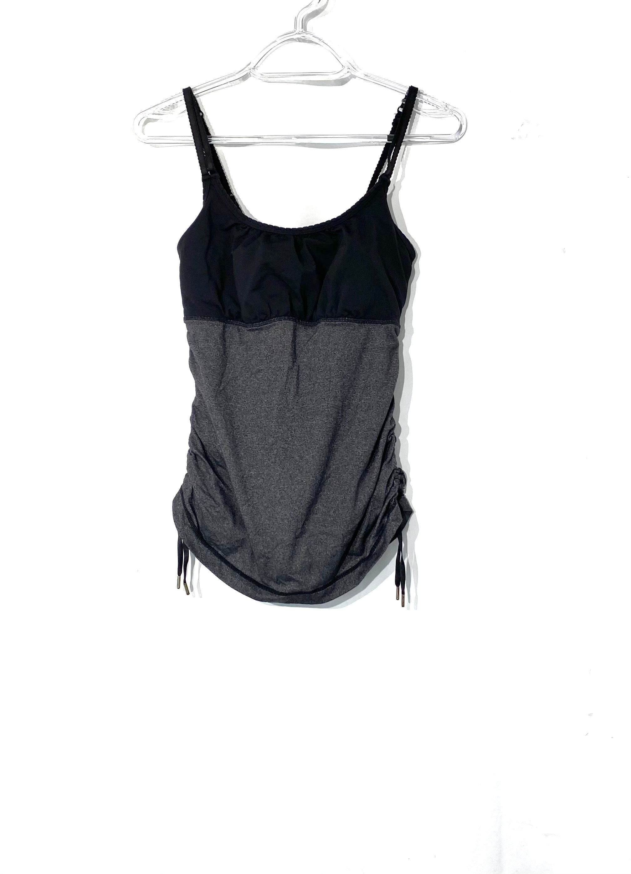 Primary Photo - BRAND: LULULEMON <BR>STYLE: ATHLETIC TANK TOP <BR>COLOR: BLACK <BR>SIZE: XS /S<BR>SKU: 262-26275-72192<BR>DESIGNER FINAL <BR>SIZE TAG MISSING AS IS <BR>BRA INSERTS MISSING AS IS<BR>GENTLE WEAR