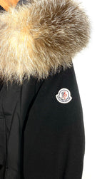 "Photo #2 - <P>BRAND: MONCLER<BR>STYLE: COAT<BR>COLOR: BLACK <BR>SIZE: 2/M<BR>OTHER INFO: MONCLER - <BR>SKU: 262-26275-64992<BR><BR>DESIGNER FINAL <BR>GREAT CONDITION SLIGHTEST FADE ON POCKET CORNERS (SEE PICS)<BR>PIT TO HEM 20""</P> <P>THIS FITS LIKE SIZE 10</P>"