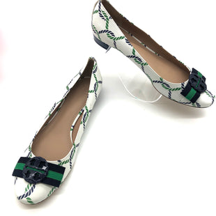 Primary Photo - BRAND: TORY BURCH STYLE: SHOES FLATS COLOR: BLUE GREEN SIZE: 10MSKU: 262-26275-74305COUPLE SLIGHT SPOTS