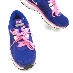 Primary Photo - BRAND: NIKE STYLE: SHOES ATHLETIC COLOR: BLUE SIZE: 9.5 SKU: 262-26241-43782SLIGHT WEAR - AS IS