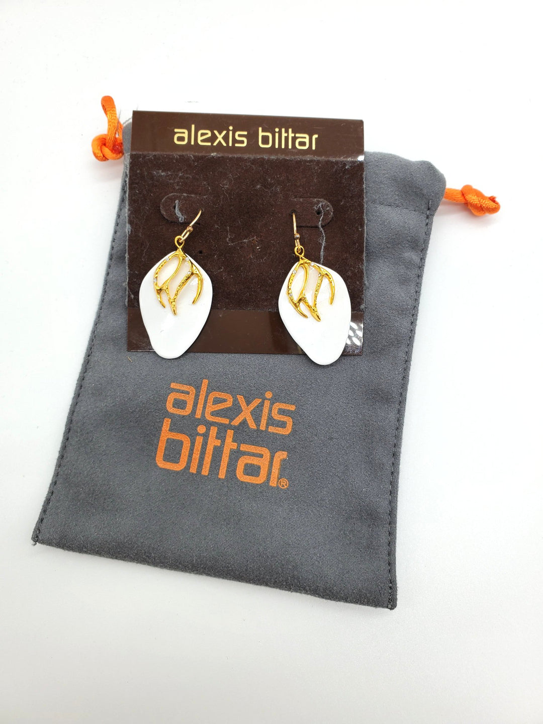 Primary Photo - BRAND: ALEXIS BITTAR <BR>STYLE: EARRINGS <BR>COLOR: MULTI <BR>SKU: 262-26275-62775<BR>AS IS<BR>DESIGNER ITEM FINAL SALE