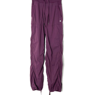 Primary Photo - BRAND: LULULEMON STYLE: ATHLETIC PANTS COLOR: DARK RASPBERRY SIZE: 2 SKU: 262-26241-47334DESIGNER FINAL