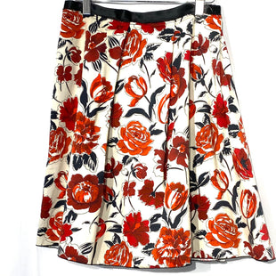 "Primary Photo - BRAND:  JIL SANDERSTYLE: SKIRT COLOR: FLORAL SIZE: M/ 38 OTHER INFO: JIL SANDERS - SKU: 262-26275-69851DESIGNER FINAL 100% COTTON27"" WAIST LENGTH 21"""
