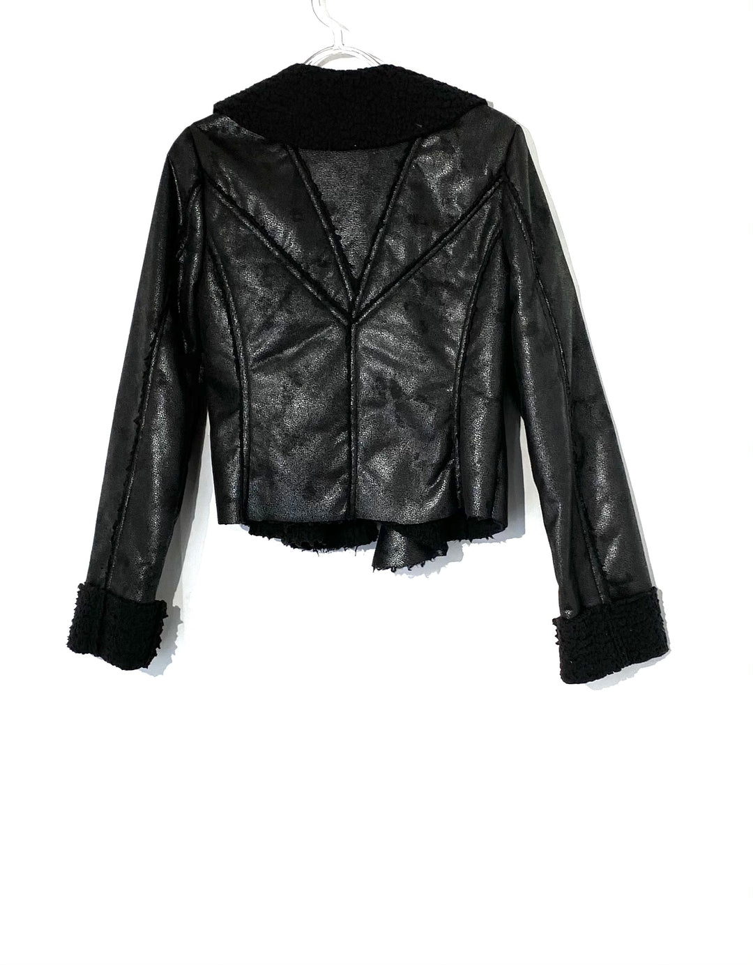 Photo #1 - BRAND: RYU <BR>STYLE: JACKET OUTDOOR <BR>COLOR: BLACK <BR>SIZE: M <BR>SKU: 262-26275-72645