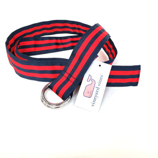 Primary Photo - BRAND: VINEYARD VINES STYLE: BELT COLOR: STRIPED SKU: 262-26275-51150. SIZE: L. AS IS DESIGNER ITEM FINAL SALE.