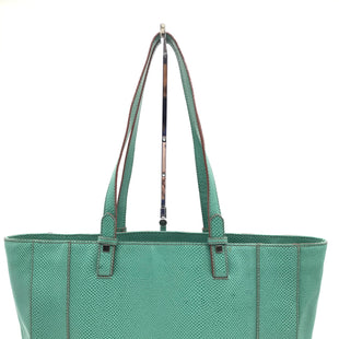 "Primary Photo - BRAND: BARR+BARRSTYLE: HANDBAG COLOR: MINT SIZE: LARGE 10""H X 17.5""L X 5""W SKU: 262-26275-70332SOME MARKS ON THE EXTERIOR -AS IS"