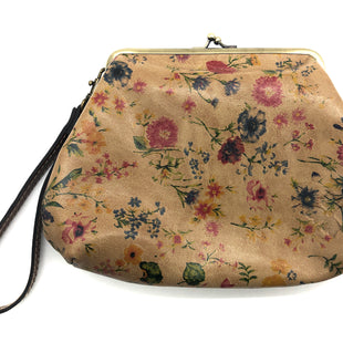 "Primary Photo - BRAND: PATRICIA NASH STYLE: WRISTLET COLOR: FLORAL SKU: 262-262100-374APPROX. 8.5""L X 6.5""H"