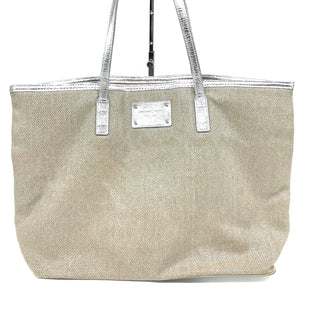 "Primary Photo - BRAND: MICHAEL KORS STYLE: HANDBAG DESIGNER COLOR: SILVER SIZE: MEDIUM SKU: 262-26282-834AS IS DESIGNER BRAND FINAL SALE APPROX 18""X12""X6"""