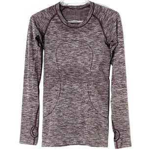 Primary Photo - BRAND: LULULEMON STYLE: ATHLETIC TOP COLOR: MAROON SIZE: 2 SKU: 262-26241-47328DESIGNER FINAL