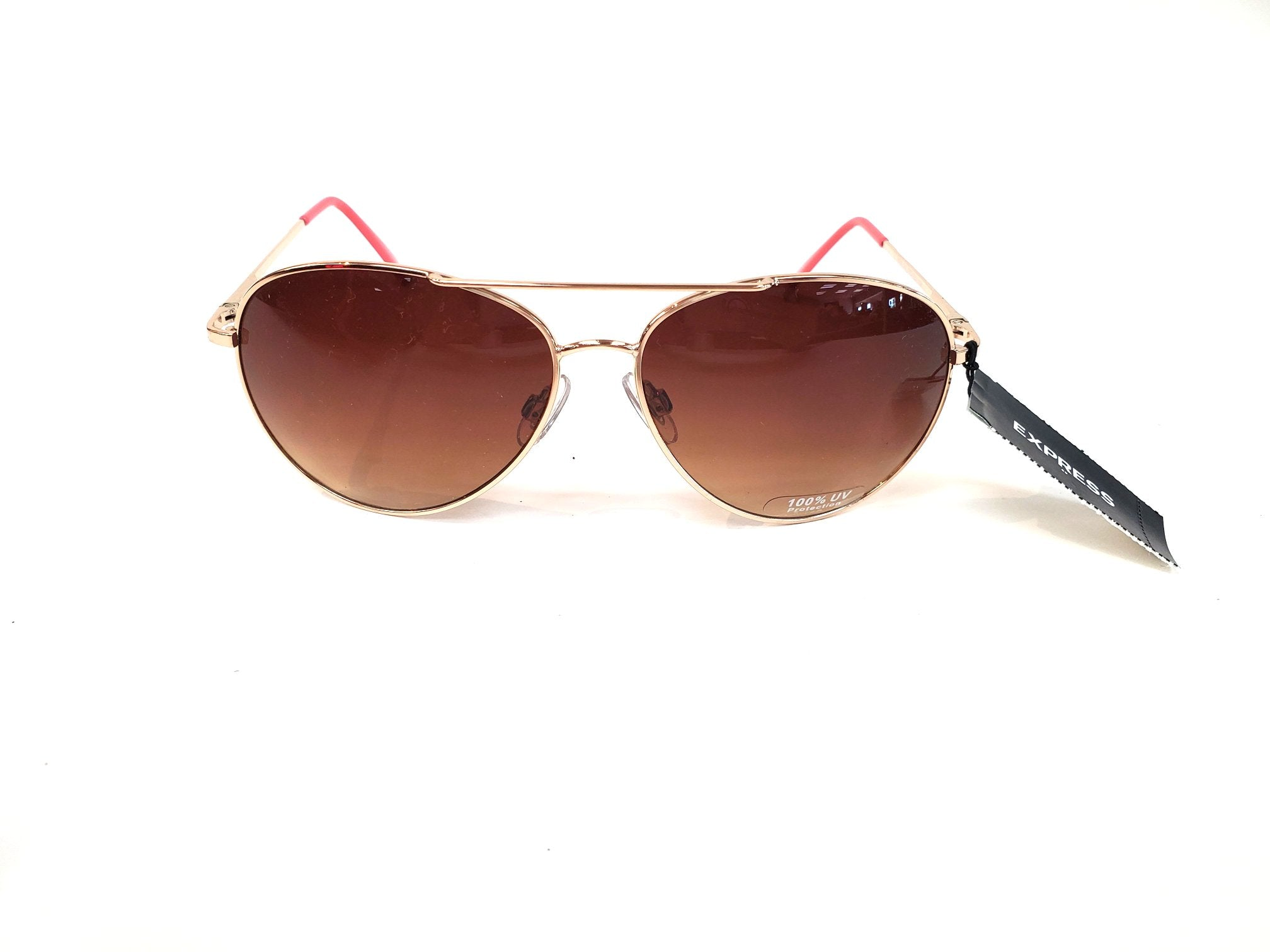 Primary Photo - BRAND: EXPRESS <BR>STYLE: SUNGLASSES <BR>COLOR: BROWN <BR>SKU: 262-26285-2753