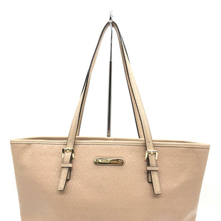 "Primary Photo - BRAND: MICHAEL KORS STYLE: HANDBAG DESIGNER COLOR: NUDE SIZE: MEDIUM 16""W X 9""H X 4.5""DSHOULDER DROP: 9"" SKU: 262-26275-68549GENTLE MARKS - AS IS"