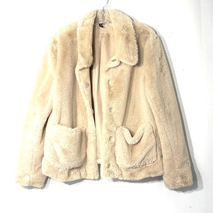 Primary Photo - BRAND: DIVERSION H & MSTYLE: JACKET OUTDOOR COLOR: BEIGE SIZE: M SKU: 262-26275-74389FAUX FUR