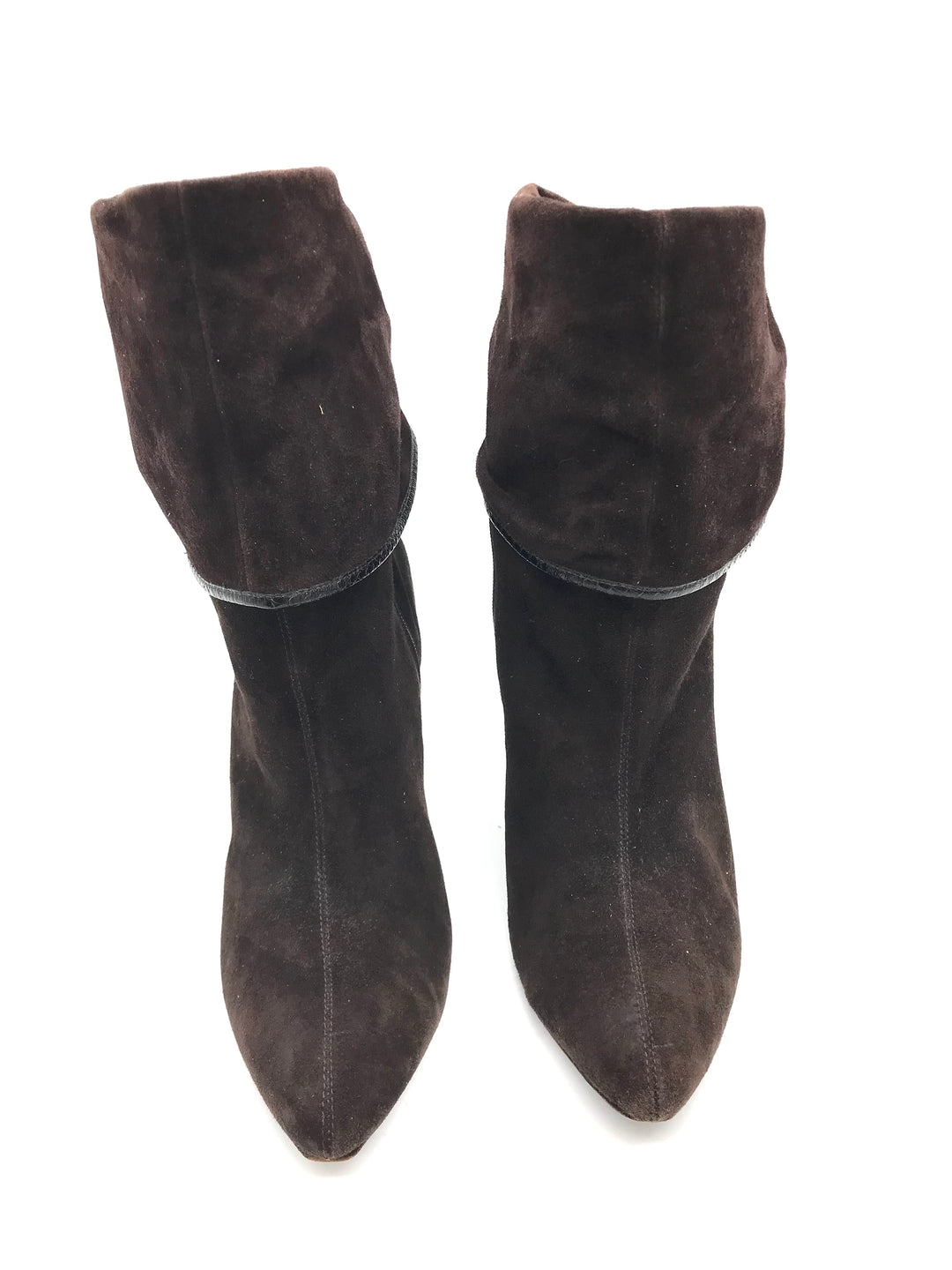 Photo #3 - BRAND: VIA SPIGA <BR>STYLE: BOOTS ANKLE <BR>COLOR: BROWN <BR>SIZE: 8.5 <BR>SKU: 262-26275-71064<BR><BR>COUPLE SLIGHT MARKS