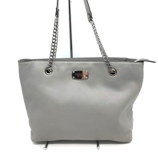 "Primary Photo - BRAND: MICHAEL KORS STYLE: HANDBAG DESIGNER COLOR: GREY SIZE: MEDIUM SKU: 262-26241-42730APPROX. 15""L X 10""H X 4.5""D."