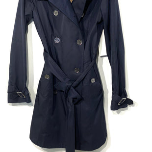 Primary Photo - BRAND: MICHAEL KORS STYLE: TRENCH COATCOLOR: NAVY SIZE: S SKU: 262-26275-67699DESIGNER FINAL