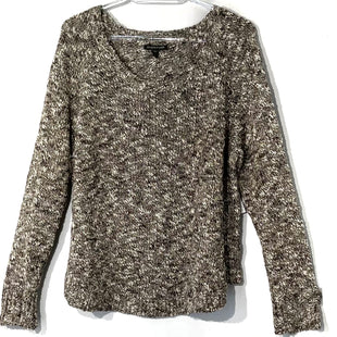 Primary Photo - BRAND: EILEEN FISHER STYLE: SWEATER LIGHTWEIGHT COLOR: BROWN SIZE: L SKU: 262-26275-7494237% LINEN27% COTTON