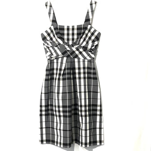 Primary Photo - BRAND: DONNA RICCO STYLE: DRESS SHORT SLEEVELESS COLOR: PLAID SIZE: S /6SKU: 262-26275-74894