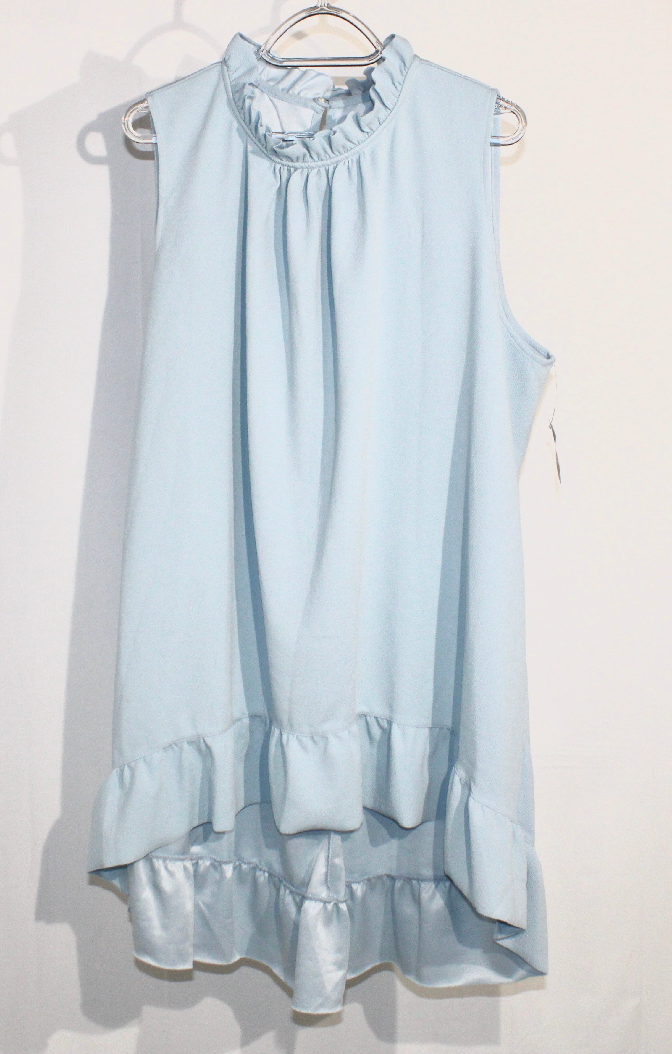 Primary Photo - BRAND: LANE BRYANT <BR>STYLE: DRESS SHORT SLEEVELESS<BR>COLOR: BLUE <BR>SIZE: 22/24<BR>SKU: 262-26298-466