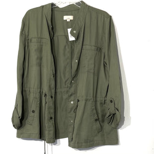 Primary Photo - BRAND: ANN TAYLOR LOFT STYLE: TOP LONG SLEEVE JACKETCOLOR: OLIVE SIZE: L SKU: 262-26211-143259