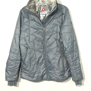 Primary Photo - BRAND: COLUMBIA STYLE: JACKET COLOR: GREY SIZE: L SKU: 262-26275-66881