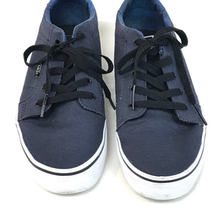 Primary Photo - BRAND: VANS STYLE: SHOES ATHLETIC COLOR: NAVY SIZE: 6 SKU: 262-26275-62214GENTLE WEAR SHOWS FINAL SALE - AS IS