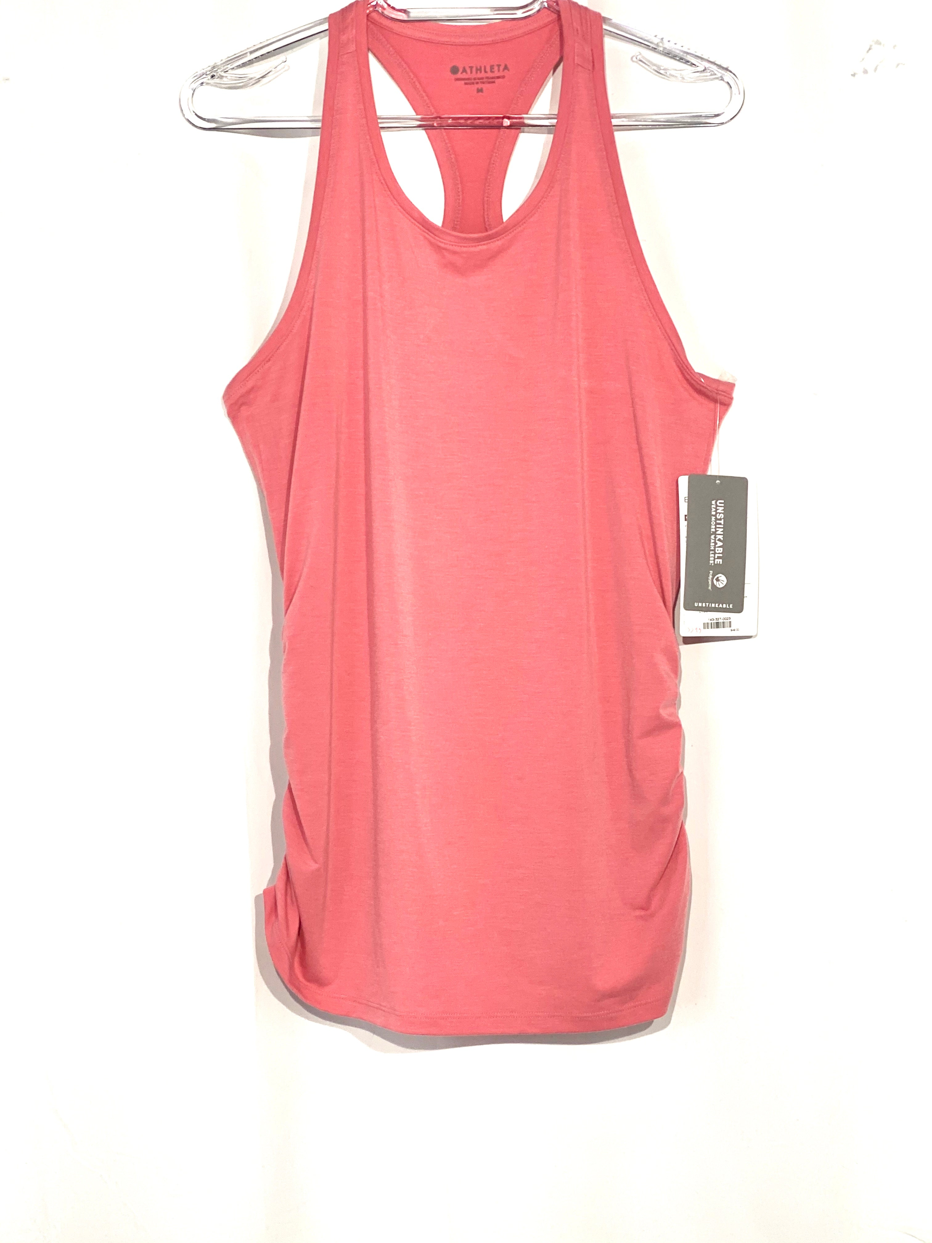Primary Photo - BRAND: ATHLETA <BR>STYLE: ATHLETIC TANK TOP <BR>COLOR: DUSTY PINK <BR>SIZE: M <BR>SKU: 262-26275-64691