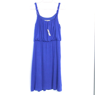 Primary Photo - BRAND: ANN TAYLOR LOFT STYLE: DRESS SHORT SLEEVELESS COLOR: BLUE SIZE: M SKU: 262-26275-60945