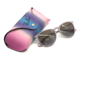 Primary Photo - BRAND: RAY BAN STYLE: SUNGLASSES COLOR: LIGHT PINK SKU: 262-26275-70766GENTLE SCRATCH ON THE LENS • BLUE INK MARK ON THE FRAME • AS IS