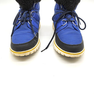 Primary Photo - BRAND: SOREL STYLE: BOOTS ANKLE COLOR: BLUE SIZE: 9.5 SKU: 262-26275-64185AS IS DESIGNER ITEM FINAL SALE