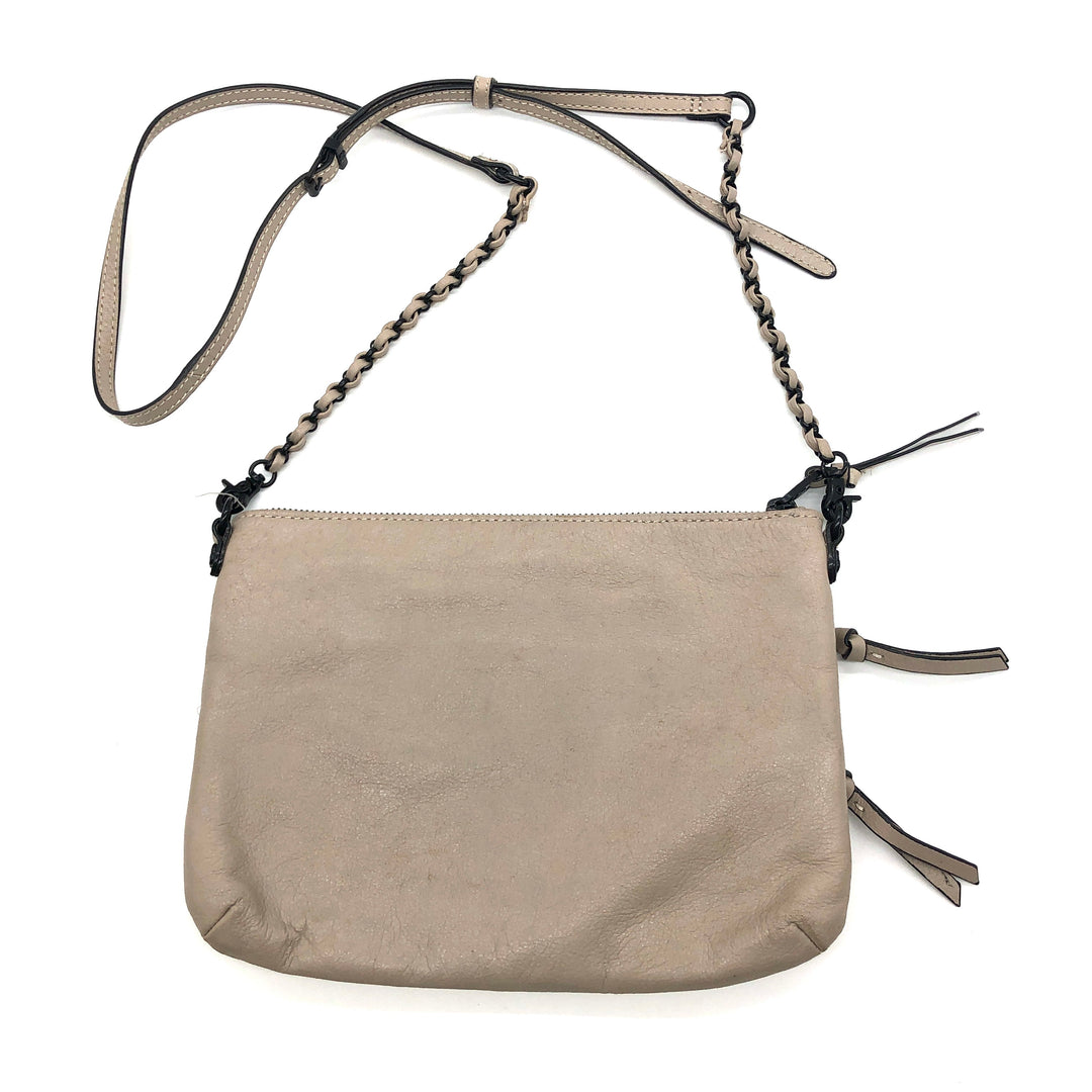 "Photo #2 - BRAND: ELLIOT LUCCA <BR>STYLE: HANDBAG <BR>COLOR: BEIGE <BR>SIZE: SMALL <BR>SKU: 262-262101-2130<BR>AS IS <BR>APPROX 10""X8""X0.5""<BR>"